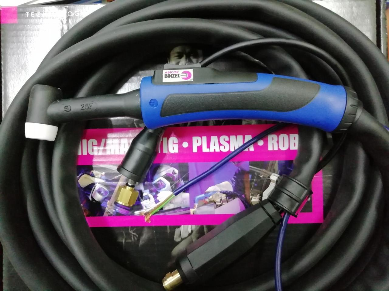 Сварочная горелка ABITIG® GRIP 26 (12 метровая) управление подачи газа кнопкой