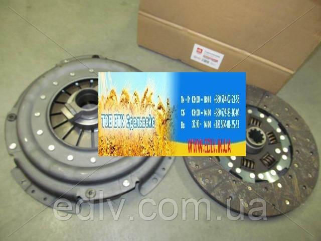 Сцепление ЗИЛ 130 , 5301 (корзина лепестковая+диск +выжимная муфта) 130-1601090