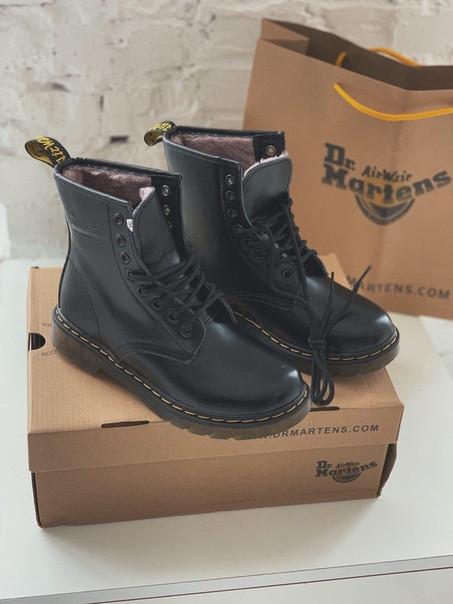 Зимние женские ботинки Dr. Martens 1460 ecdc5c404c776