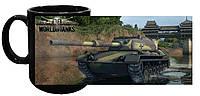Чашка World of Tanks 22 (чёрная)