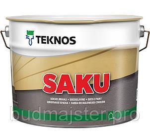 Фарба Teknos Саку, для бетонних поверхонь, 9 л