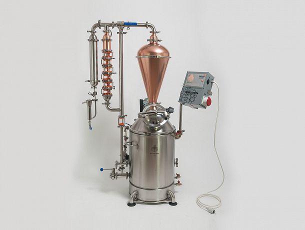 Миниспиртзавод Доктор Губер «Симпл 2018 — Аутентичный» 9 кВт  на 40 литров