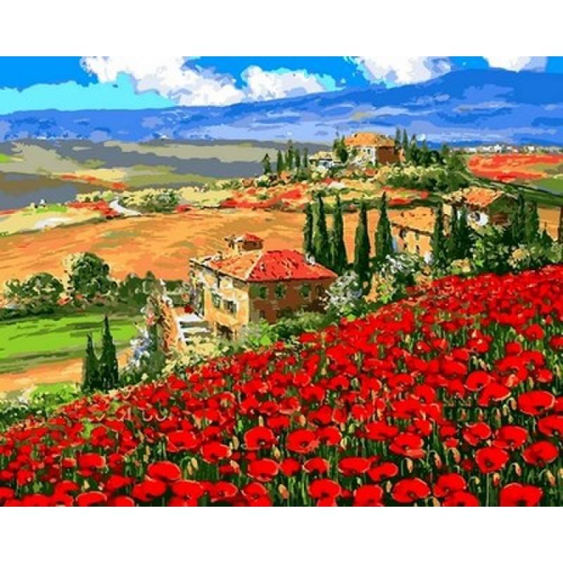 Картина по номерам Тоскана Вилла, 40x50 см., Babylon