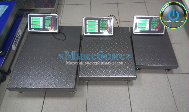 Весы товарные 150 кг Олимп 102-А
