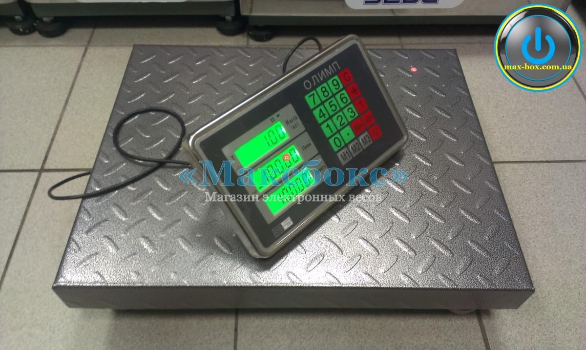 Весы товарные 300 кг TCS B102 Олимп