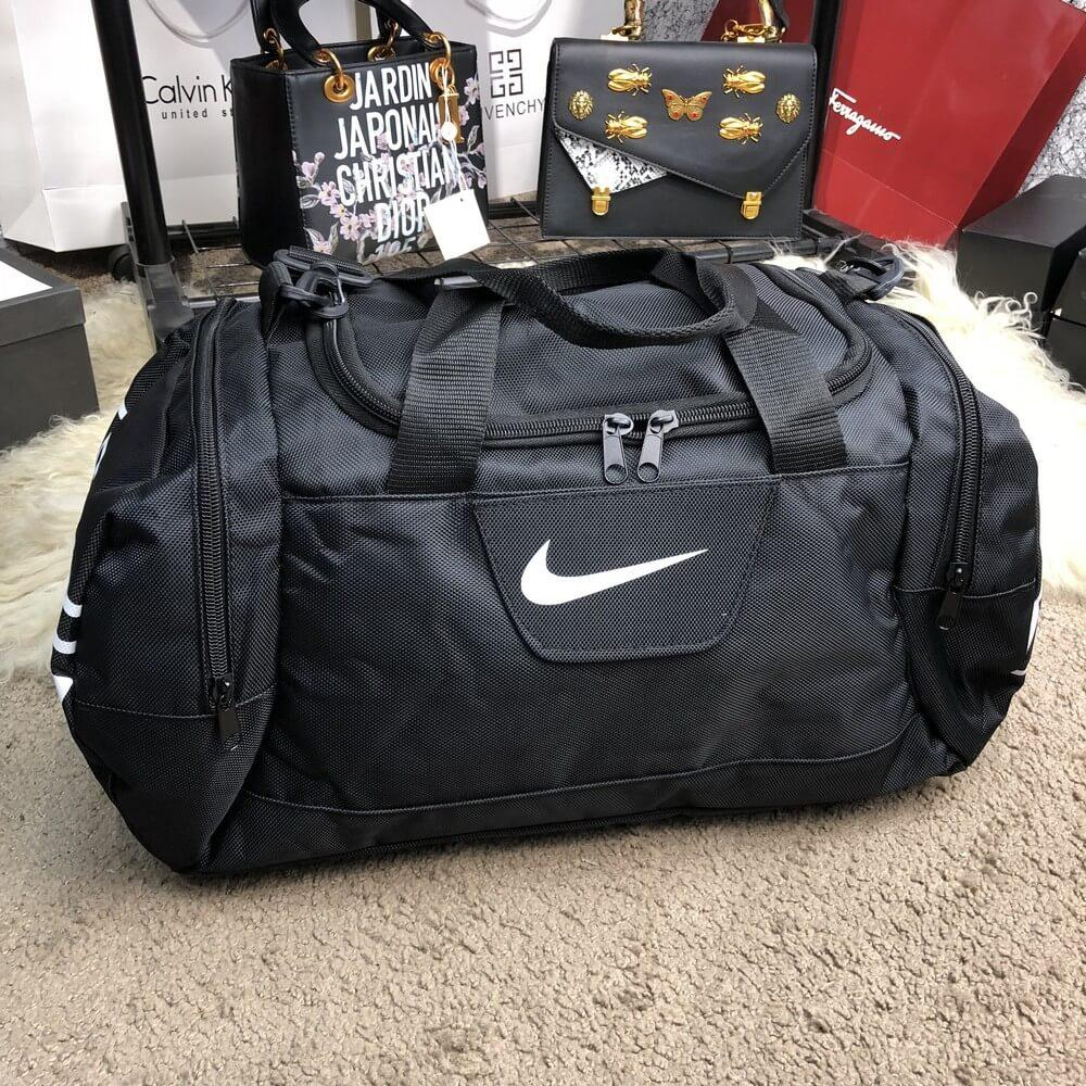 Nike Brasilia Training Duffel Bag (Medium) Black — в Категории ... 6f8d74e2e234a