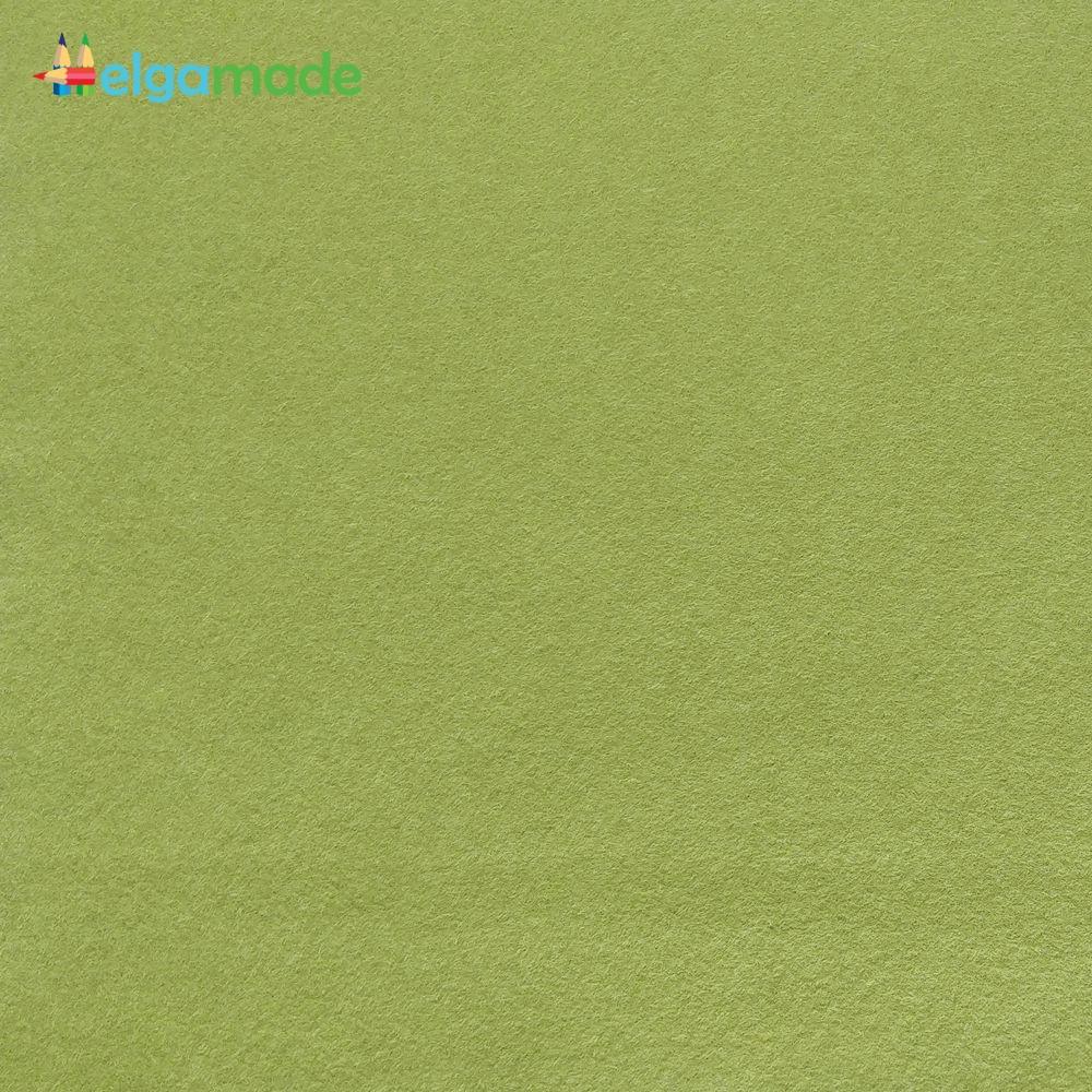 Фетр американский ГОРОХОВЫЙ СУП, 23x31 см, 1.3 мм, полушерстяной мягкий