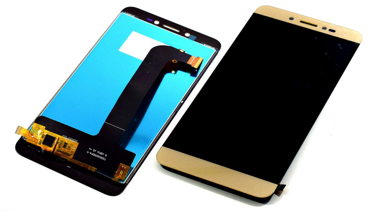 Дисплей для Prestigio MultiPhone PSP5530 Duo Grace Z5 с тачскрином золотистый Оригинал