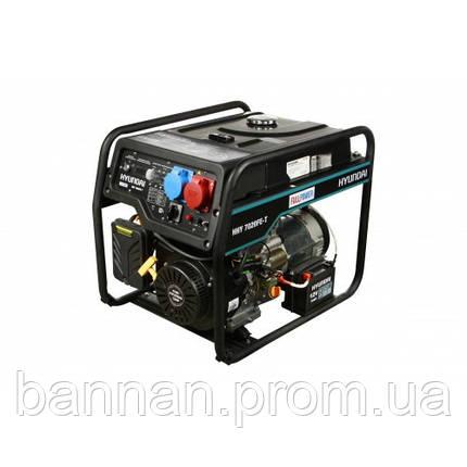 Генератор бензиновый Hyundai HHY 7020FE-T, фото 2