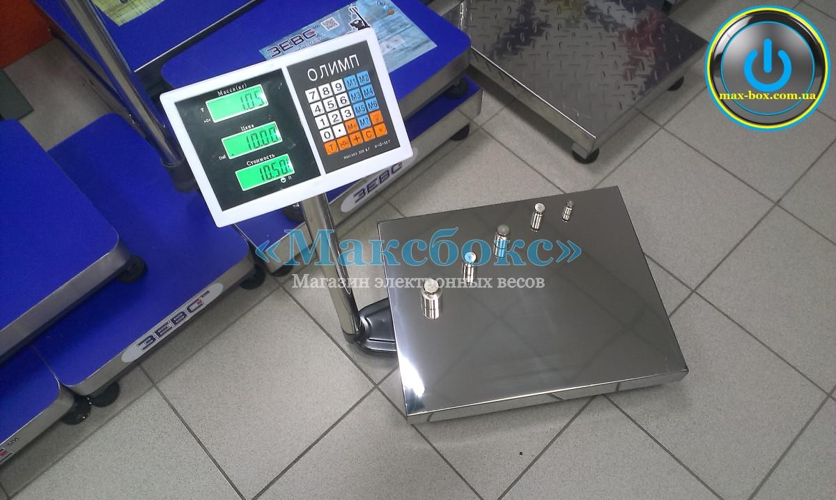 Весы для приемки товара 300 кг — Олимп В-300