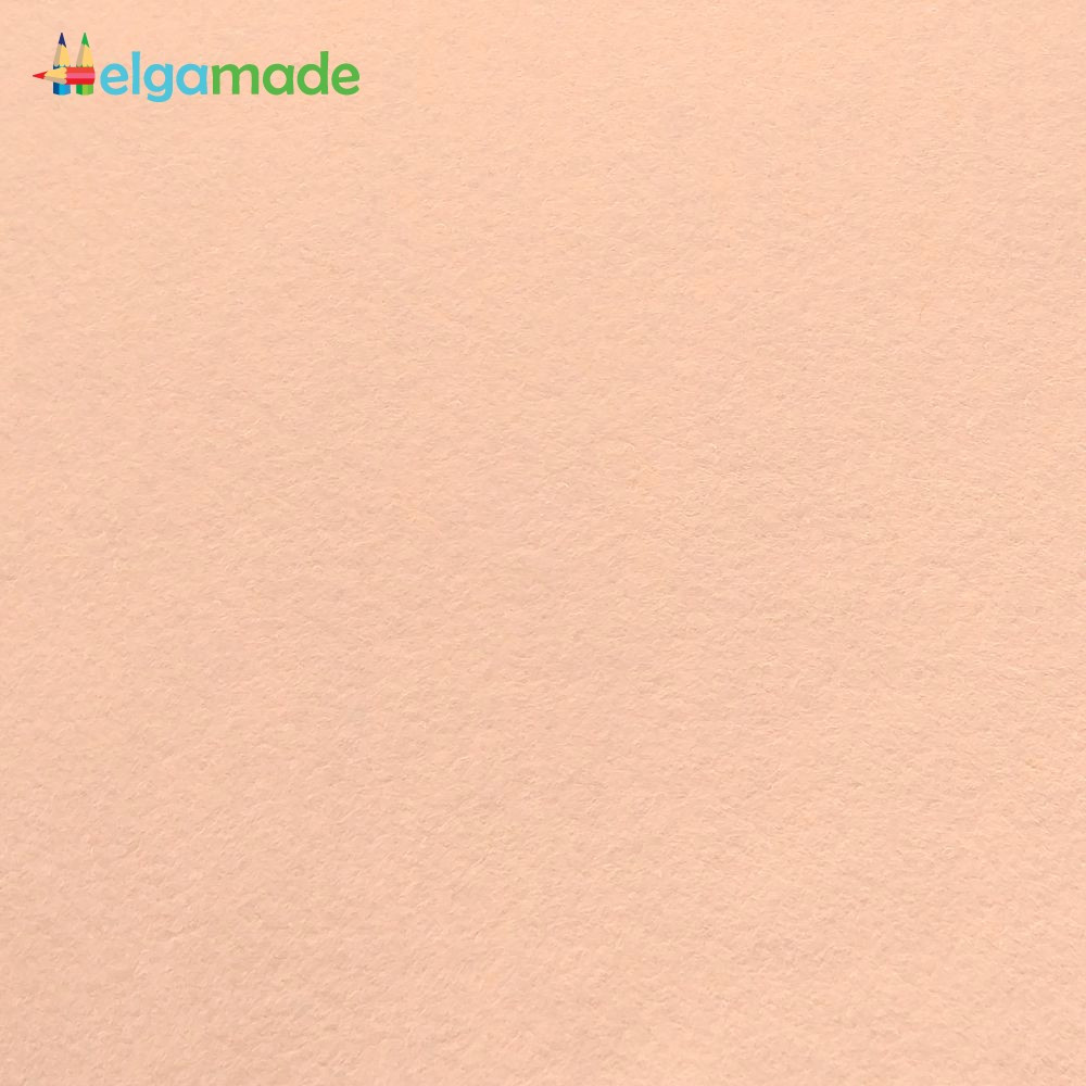 Фетр американский РУМЯНЕЦ, 23x31 см, 1.3 мм, полушерстяной мягкий