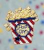 Набор для вышивки Mill Hill Popcorn / Попкорн