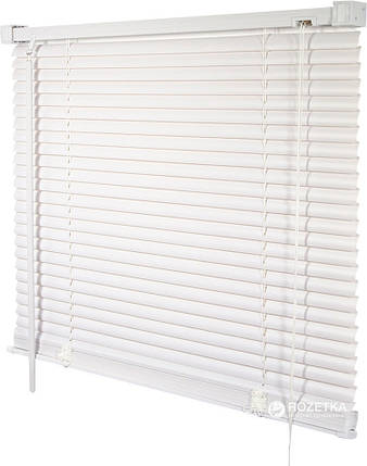 35х130см горизонтальные белые пластиковые жалюзи, фото 2