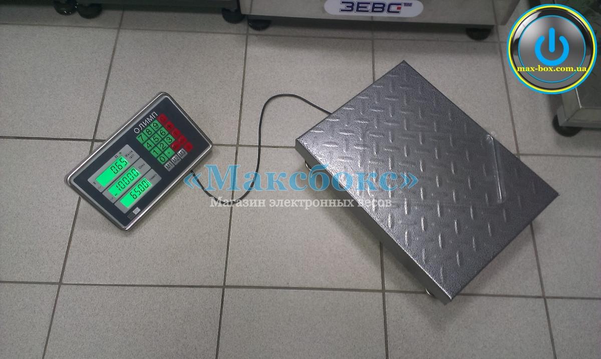 Весы товарные электронные 300 кг | TCS-C 102 Олимп
