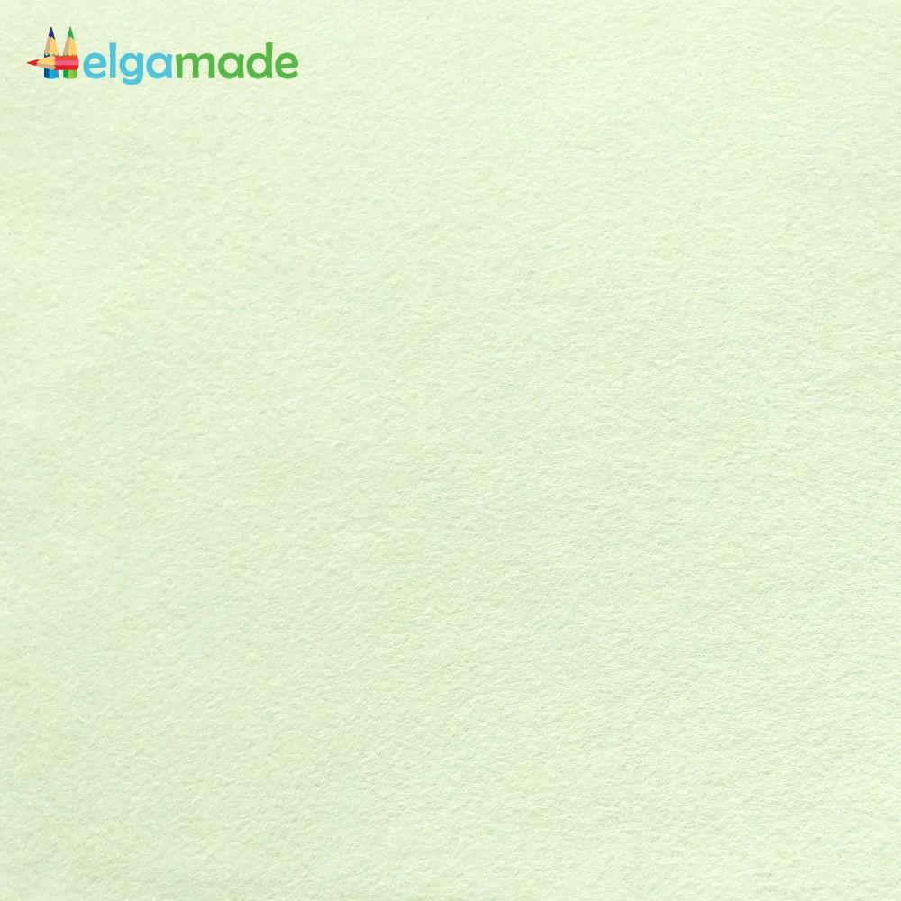Фетр американский БЛЕДНО-МЯТНЫЙ, 23x31 см, 1.3 мм, полушерстяной мягкий