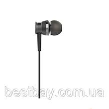 Наушники вакуумные Huawei original black+mic (гарнитура)