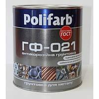 Грунт Панафарб ГФ-021 красно-коричневый 0,9 кг