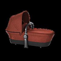Люлька Cybex Priam Carry Cot RB / Autumn Gold-burnt red (дождевик+бампер)