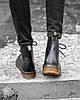 Женские зимние ботинки Dr.Martens 1460 Мартинс с мехом - Фото