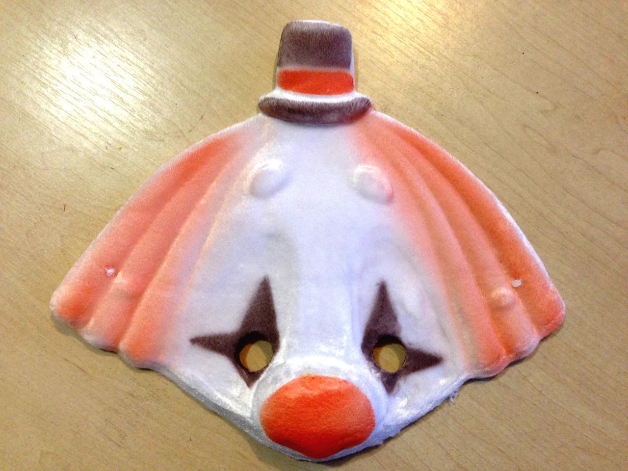 Маска карнавальная Bonita детская Клоун