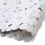 Коврик в ванную комнату антискользящий резиновый 69х35 см Leaves Bathlux Hojas 40032, фото 3