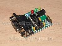 MAX232 конвертер TTL-RS232 уровней