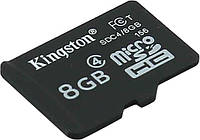 Карта памяти micro SDHC 8Gb Kingston (SDC4/8GB) Class 4