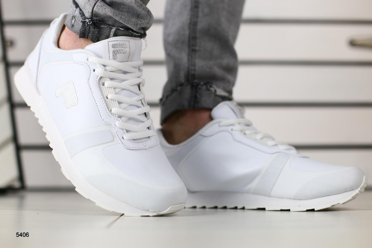 2080df6b Мужские весенние кроссовки белого цвета, цена 990 грн., купить в ...