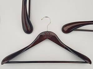 Плечики длиной 45 см вешалки деревянные Mainetti Kazara Royal-2