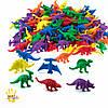 """Набор фигурок для сортировки """"Динозавры"""" EDX Education  (8 шт), фото 3"""