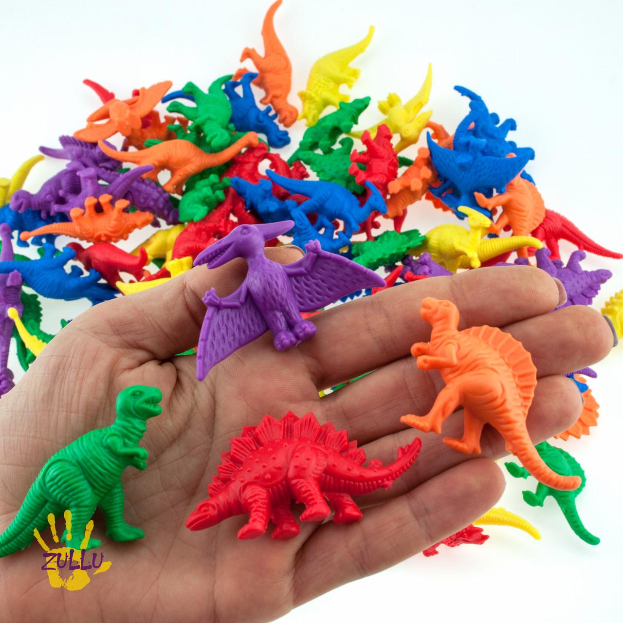 """Набор фигурок для сортировки """"Динозавры"""" EDX Education  (8 шт)"""