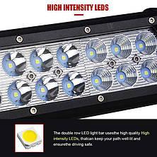 Автофара LED (48 LED) 5D-144W-SPOT CG02 PR5, фото 3