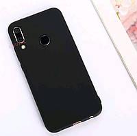 Чехол Candy Silicone для Huawei Honor 10 lite цвет Черный