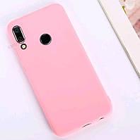 Чехол Candy Silicone для Huawei Honor 10 lite цвет Розовый