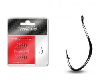 Крючки фидерные, крючки для фидера, крючки Hooks Delphin FLATER ring / 10+1шт. BN/7