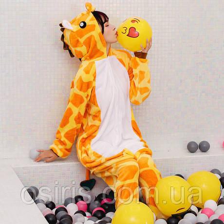 Пижама Кигуруми взрослое Жираф S (на рост 145-155)  продажа d2516d550918f