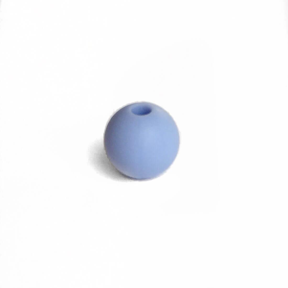 9мм (серенити) круглая, силиконовая бусина