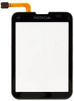 Сенсор (Touch screen) Nokia C3- 01/  C3- 03 чёрный оригинал