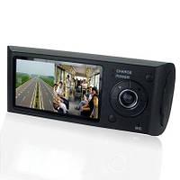 Видеорегистратор BlackBox DVR X3000 (2 камеры, GPS, G-Sensor)