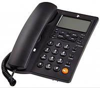 Телефон шнуровой 2E AP-410 Black