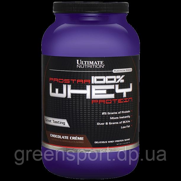 Протеин Ultimate Prostar Whey (907 г) Шоколадные сливки