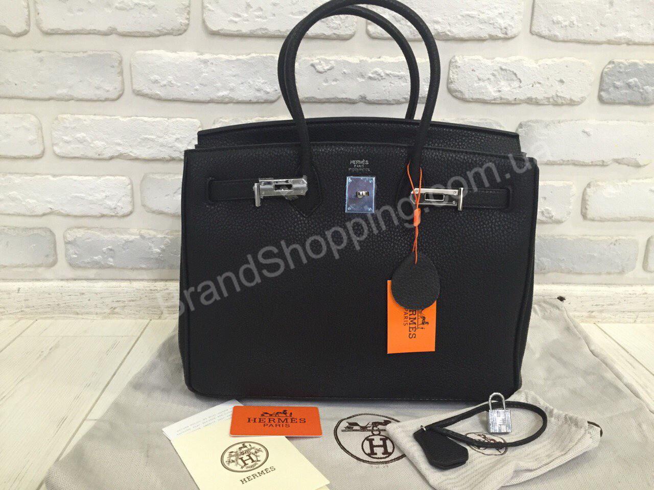 ba2317281c0a Кожаная сумка Hermes Birkin 0292s black, цена 2 950 грн., купить в ...