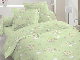 Полуторный комплект постельного белья 10-0214 Green