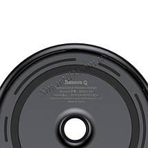 Беспроводное зарядное устройство Baseus Donut Wireless Charger Black 15W (WXTTQ-01), фото 2