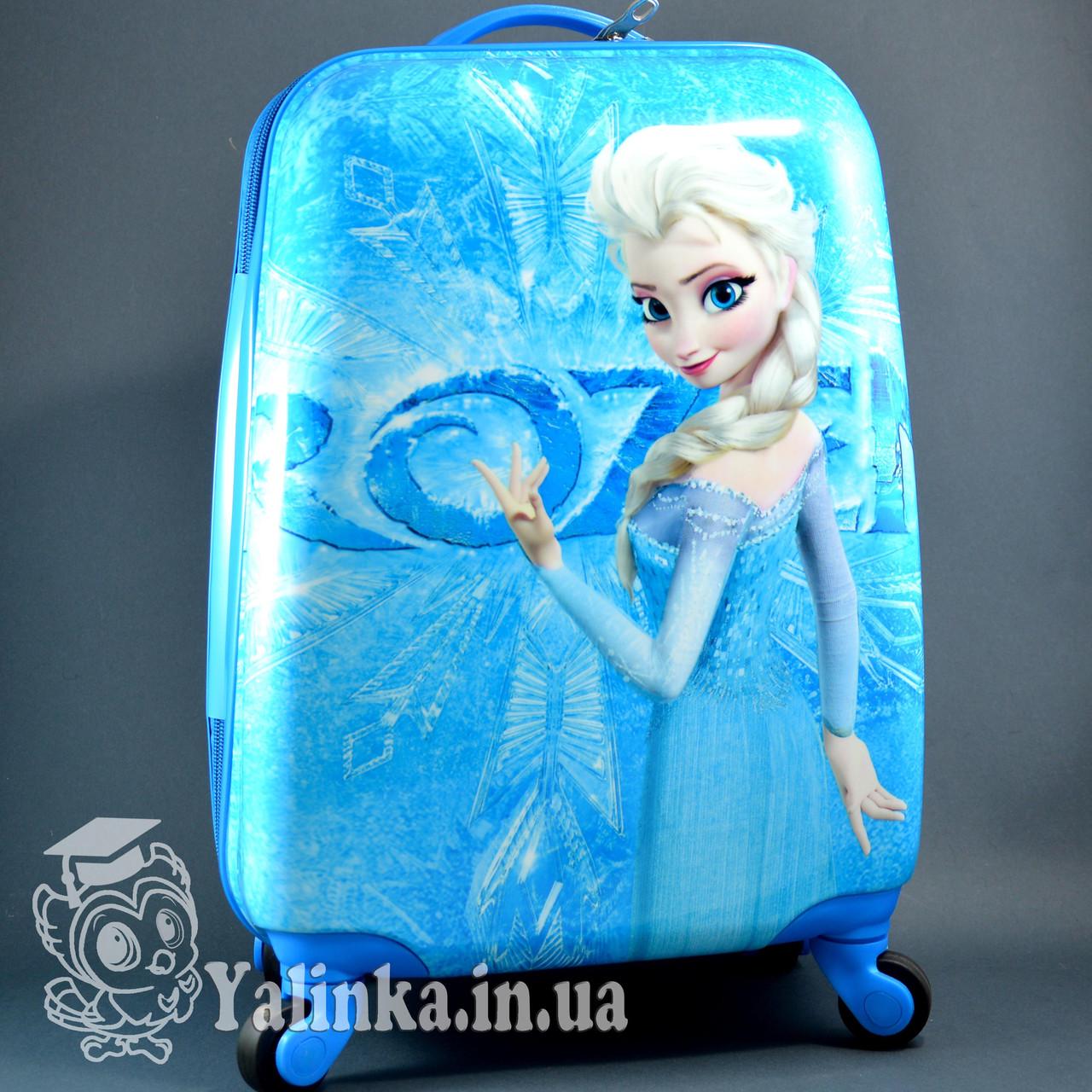 56bc35d4d27d Детский дорожный чемодан на 4-х колесах Холодное Сердце 711 - Ялинка в  Харькове