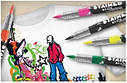Sharpie Stained  Фломастеры  для ткани 4 шт Paper Mate, фото 2