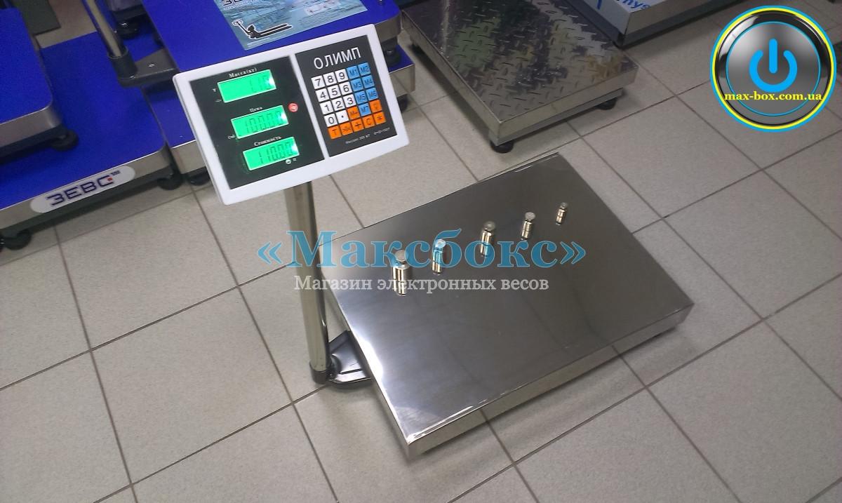 Весы для приёма товара до 300 кг Олимп C300