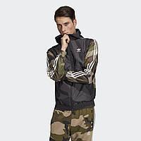 Мужская стильная ветровка adidas Camouflage DV2049
