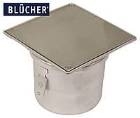 Ревізійний елемент BLUCHER із нержавіючої сталі для доступу до каналізації, DN110 арт. 144.155.110