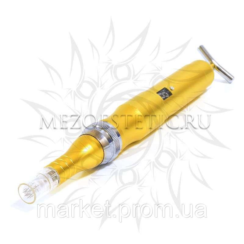Аппарат для фракционной мезотерапии Derma Pen ZGTS с электронным дисплеем и BEAUTY BAR, аккумуляторный